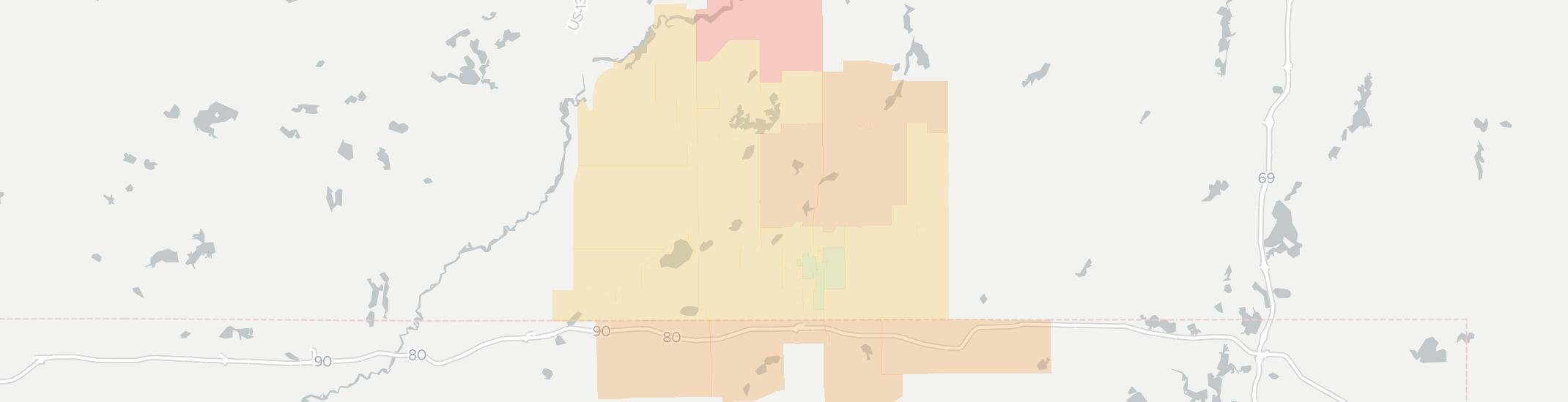 Sturgis Internet Competition Map. Click for interactive map.