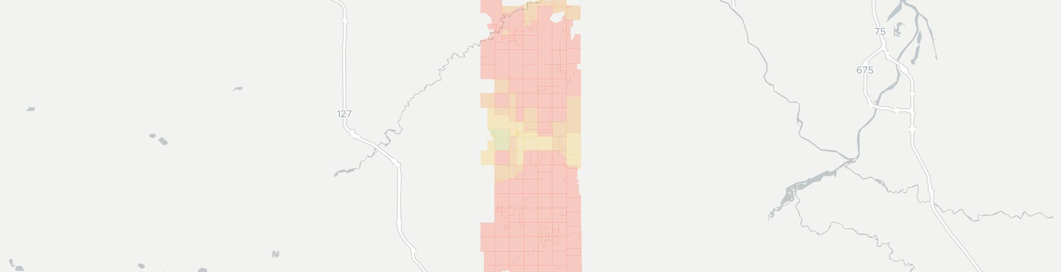 Wheeler Internet Competition Map. Click for interactive map.