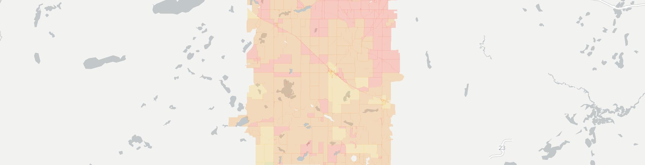 Brooten Internet Competition Map. Click for interactive map.