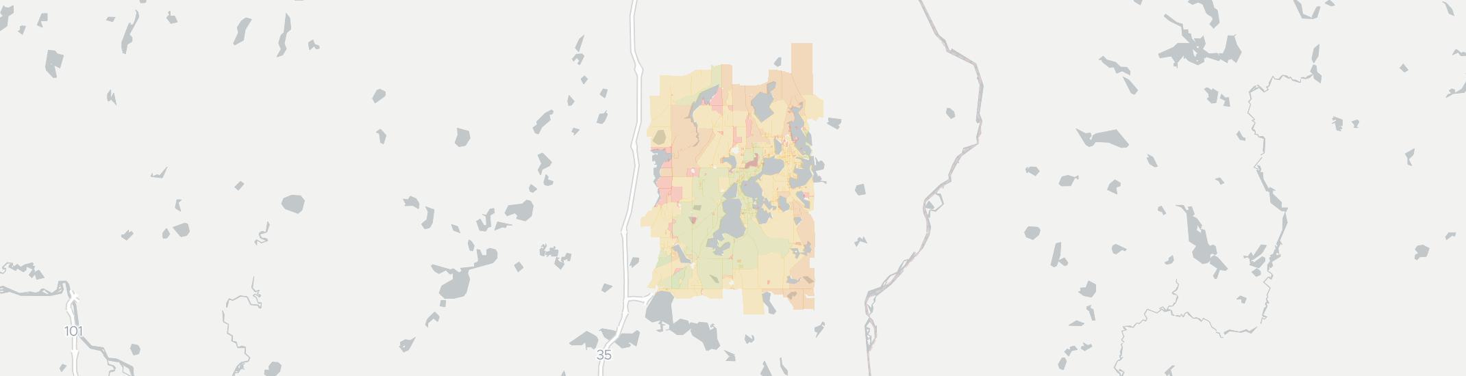 Zayo Fiber Network Map