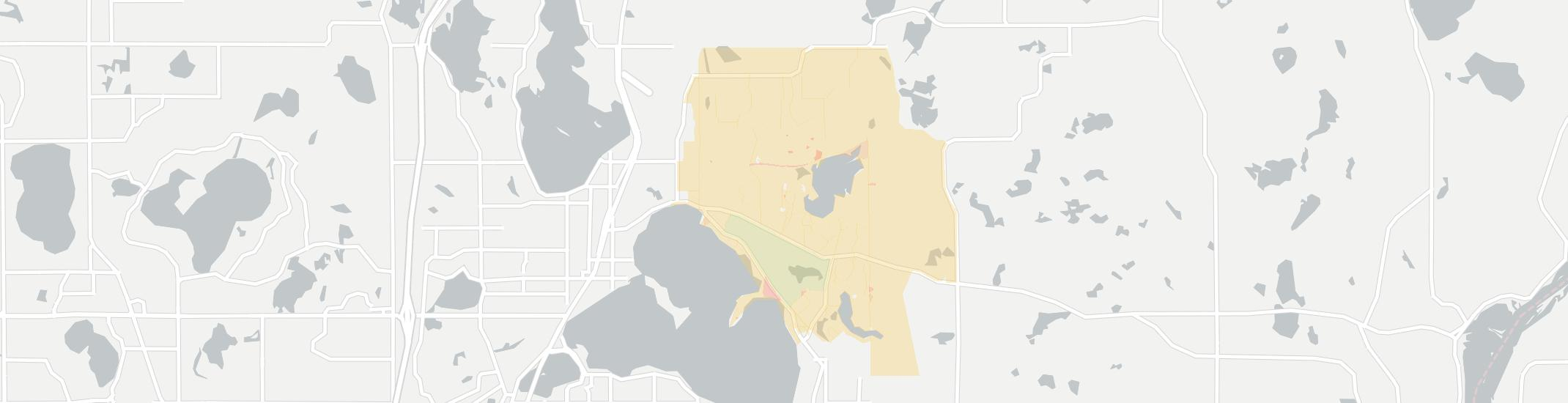 Dellwood Internet Competition Map. Click for interactive map.