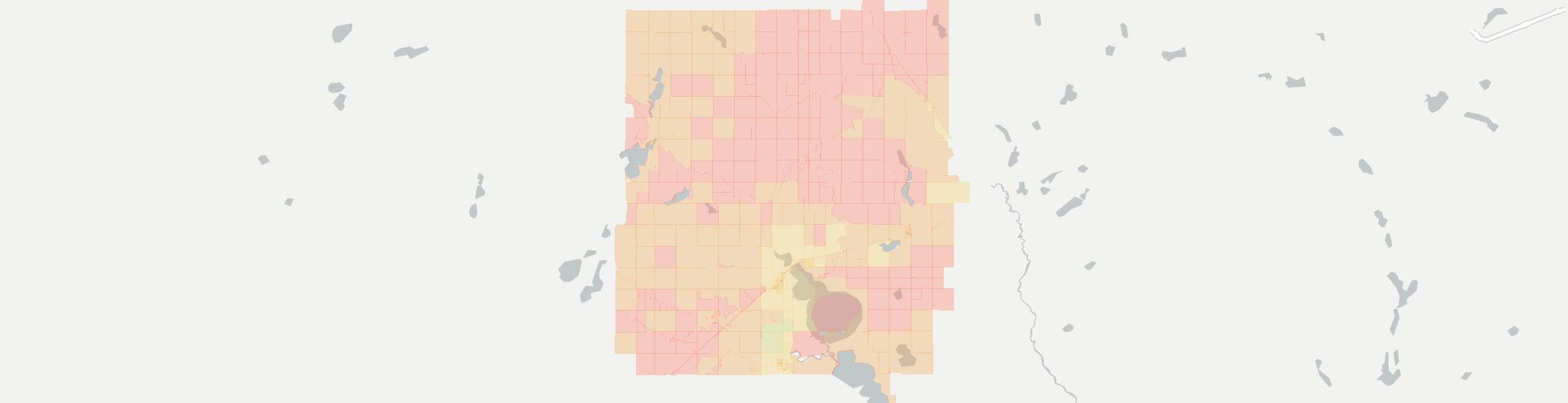 Heron Lake Internet Competition Map. Click for interactive map.