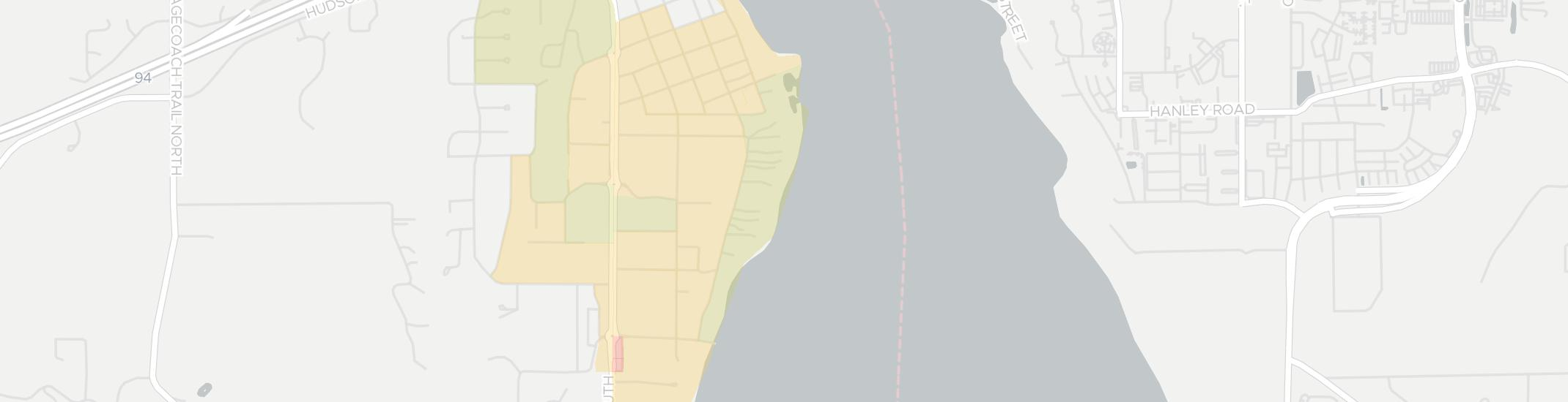 Lakeland Shores Internet Competition Map. Click for interactive map.
