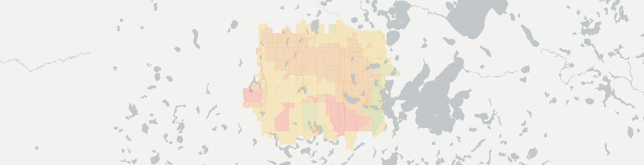 Laporte Internet Competition Map. Click for interactive map.