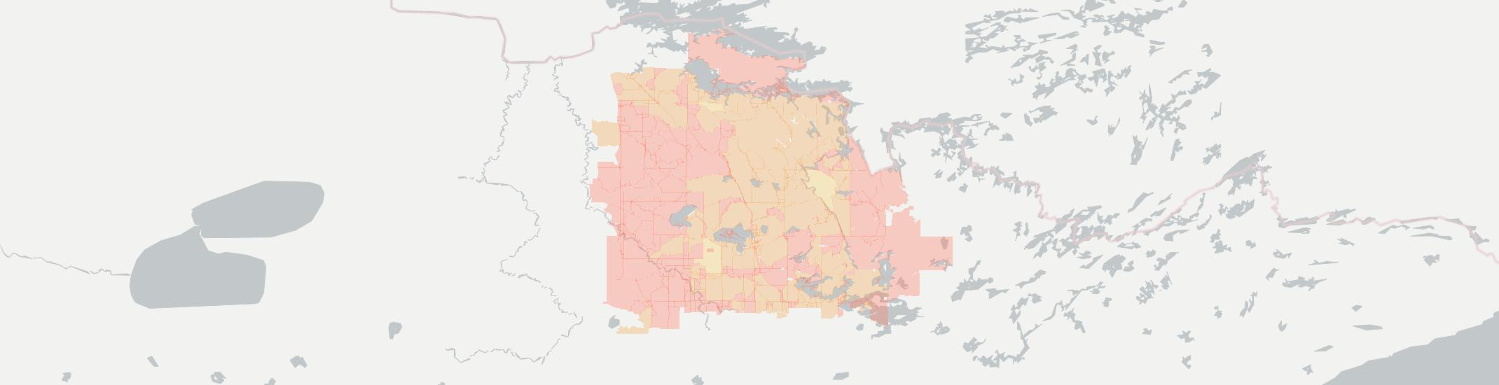 Orr Internet Competition Map. Click for interactive map.