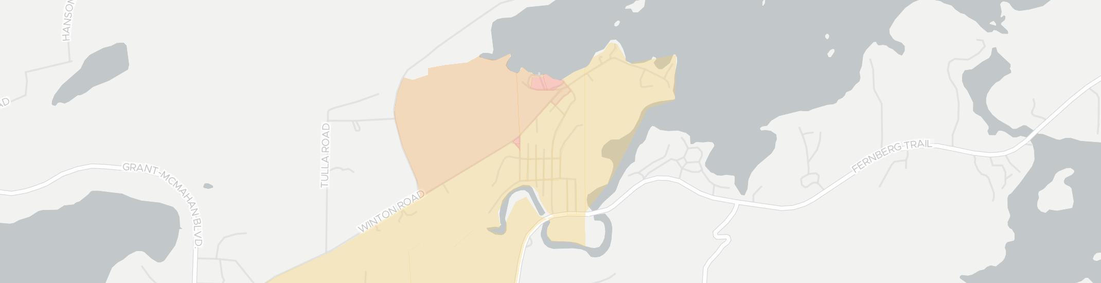 Winton Internet Competition Map. Click for interactive map.