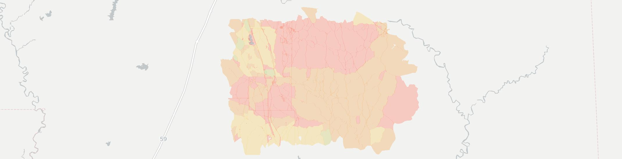 Brooklyn Internet Competition Map. Click for interactive map.
