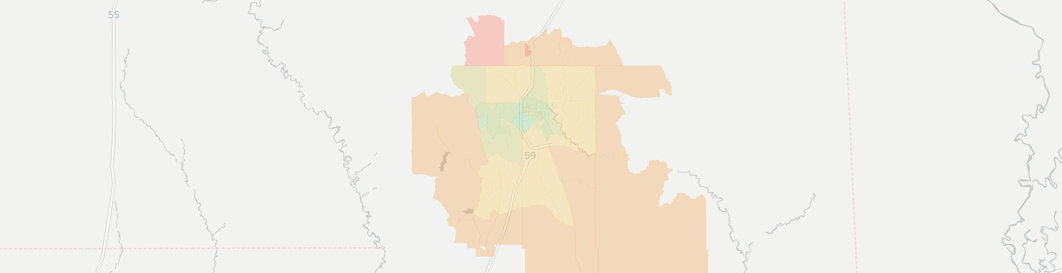 Hattiesburg Ms Zip Code Map.Internet Providers In Hattiesburg Compare 15 Providers
