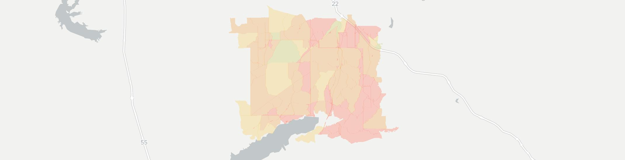 Waterford Internet Competition Map. Click for interactive map.