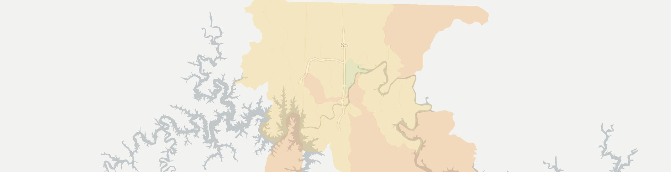 Branson Internet Competition Map. Click for interactive map.