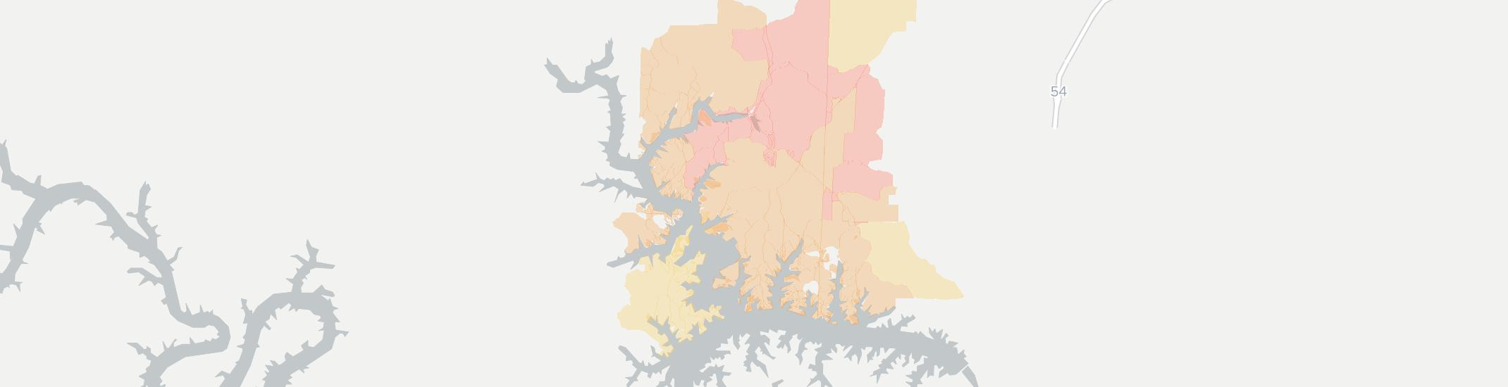 Rocky Mount Internet Competition Map. Click for interactive map.