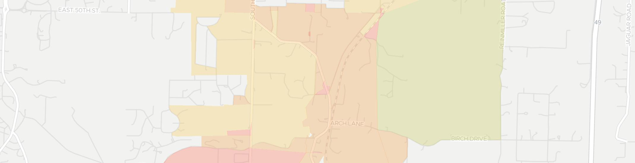 Saginaw Internet Competition Map. Click for interactive map.