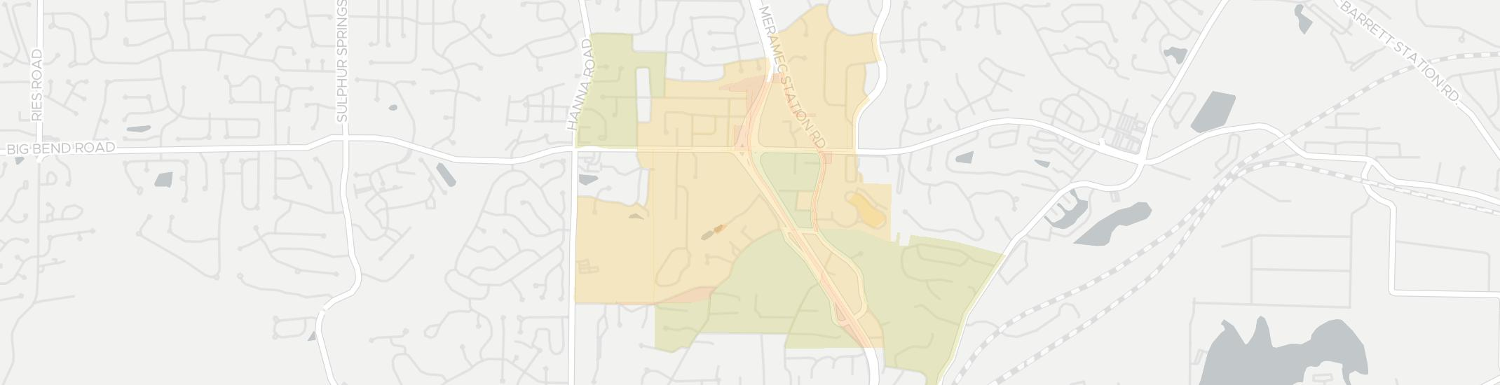 Twin Oaks Internet Competition Map. Click for interactive map.