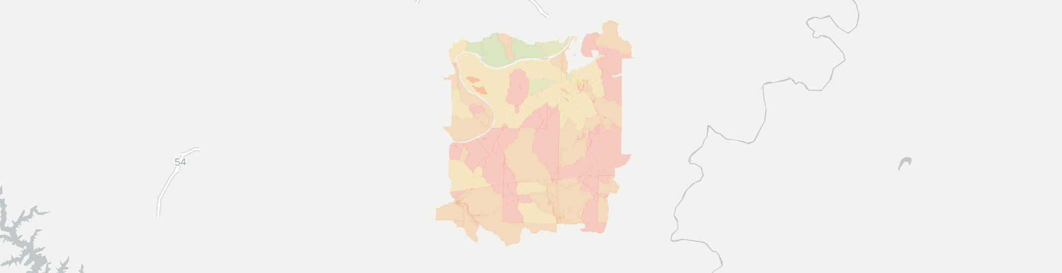 Westphalia Internet Competition Map. Click for interactive map.
