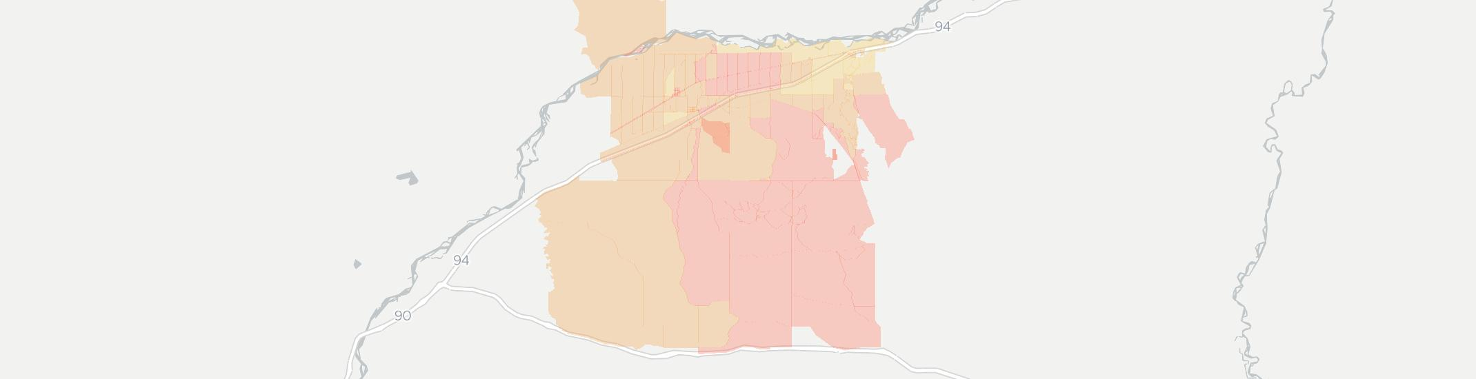 Ballantine Internet Competition Map. Click for interactive map.