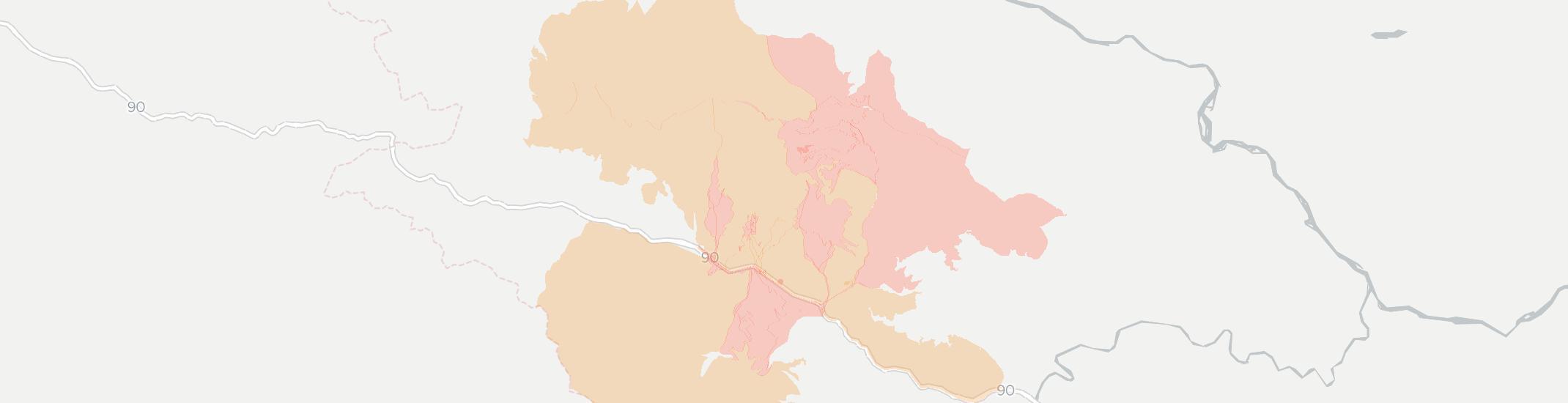 De Borgia Internet Competition Map. Click for interactive map.