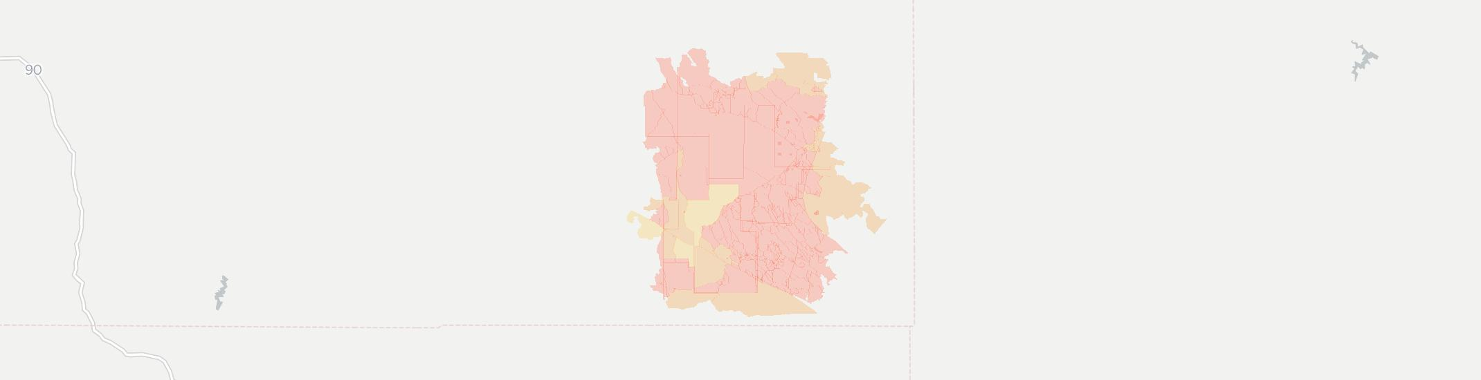 Hammond Internet Competition Map. Click for interactive map.