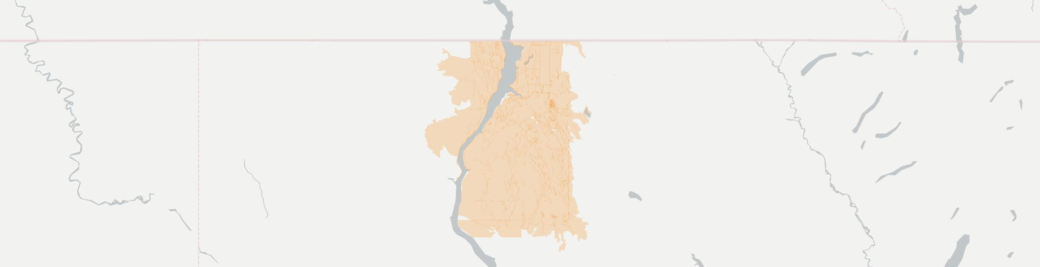 Rexford Internet Competition Map. Click for interactive map.