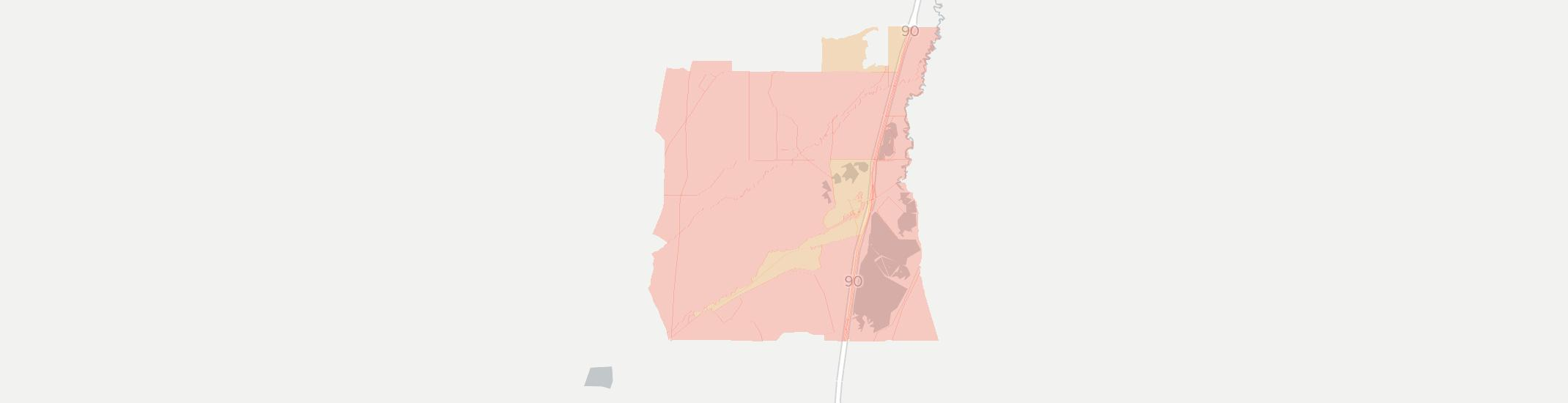Warm Springs Internet Competition Map. Click for interactive map.