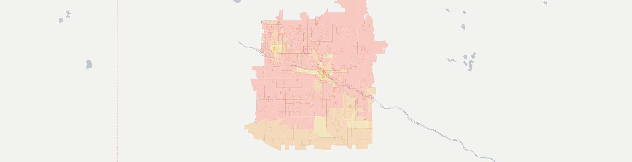 Bridgeport Internet Competition Map. Click for interactive map.