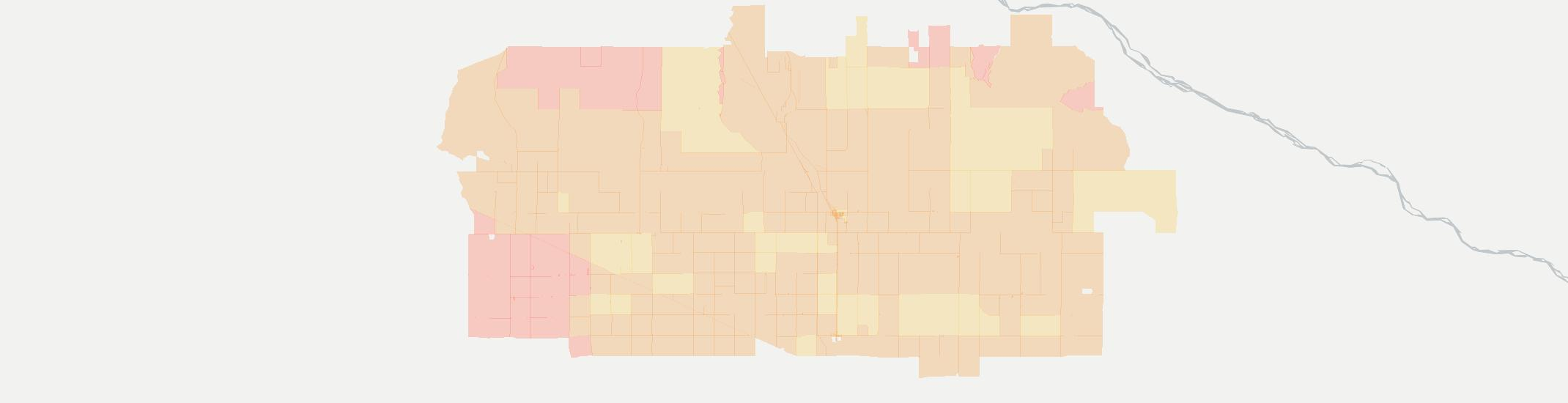 Dalton Internet Competition Map. Click for interactive map.