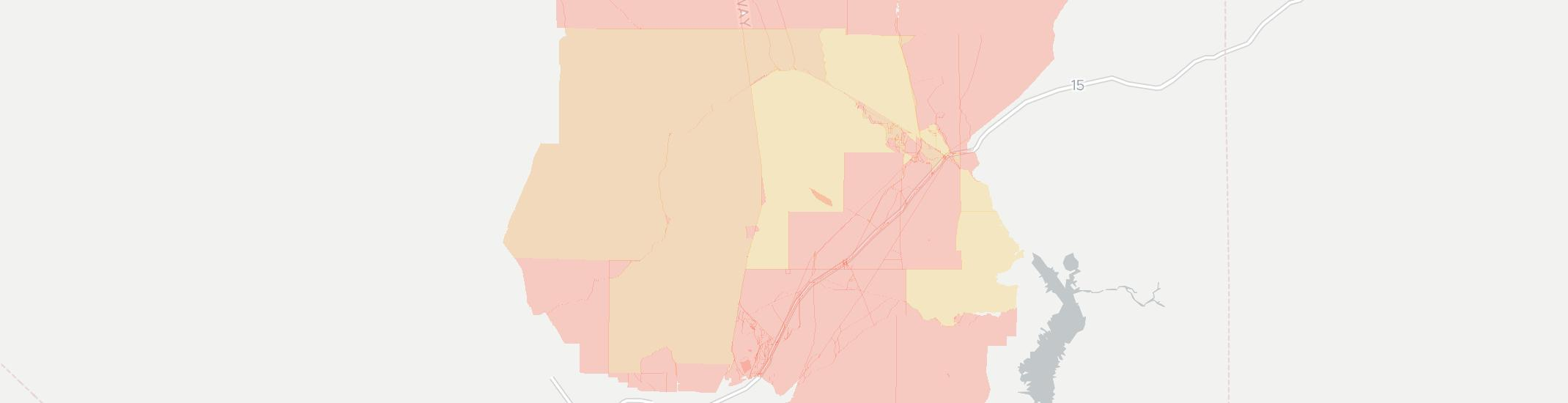 Moapa Internet Competition Map. Click for interactive map.