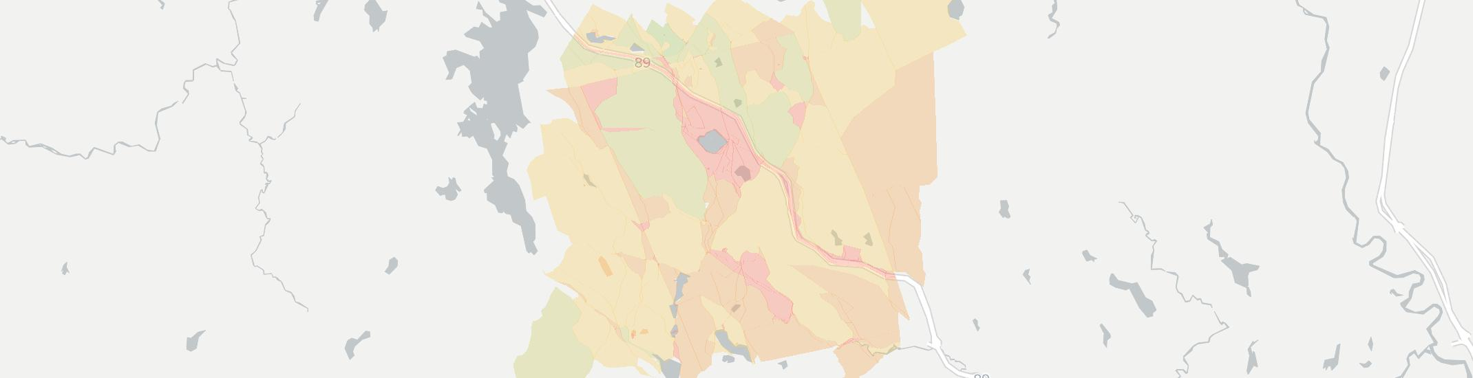 North Sutton Internet Competition Map. Click for interactive map.