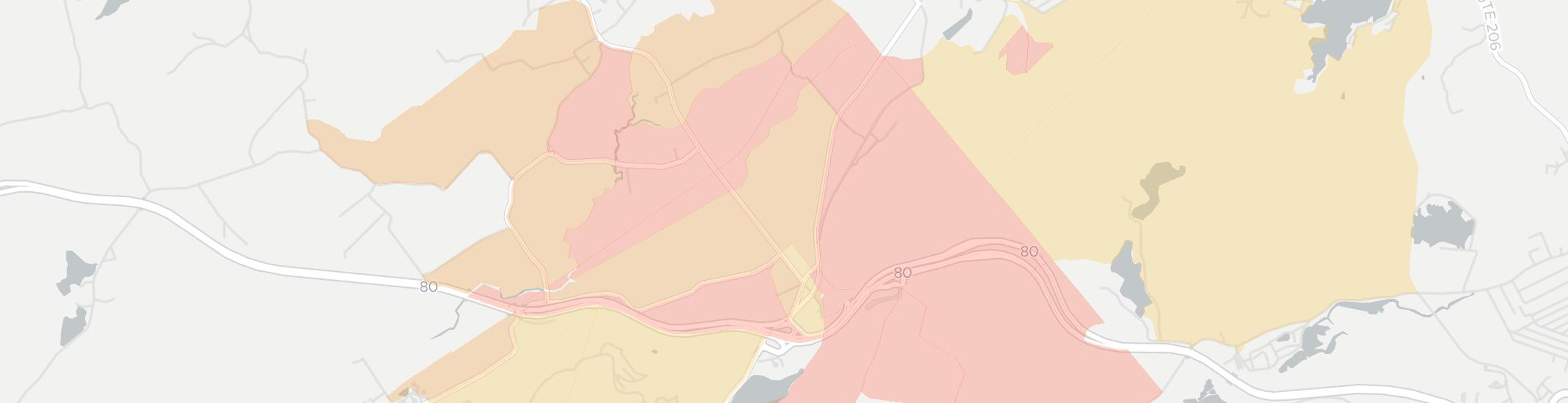 Allamuchy Internet Competition Map. Click for interactive map.