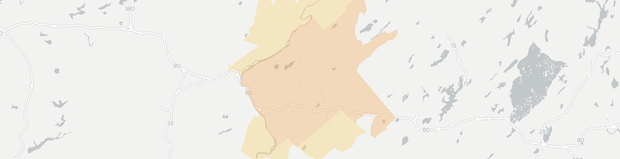 Blairstown Internet Competition Map. Click for interactive map.