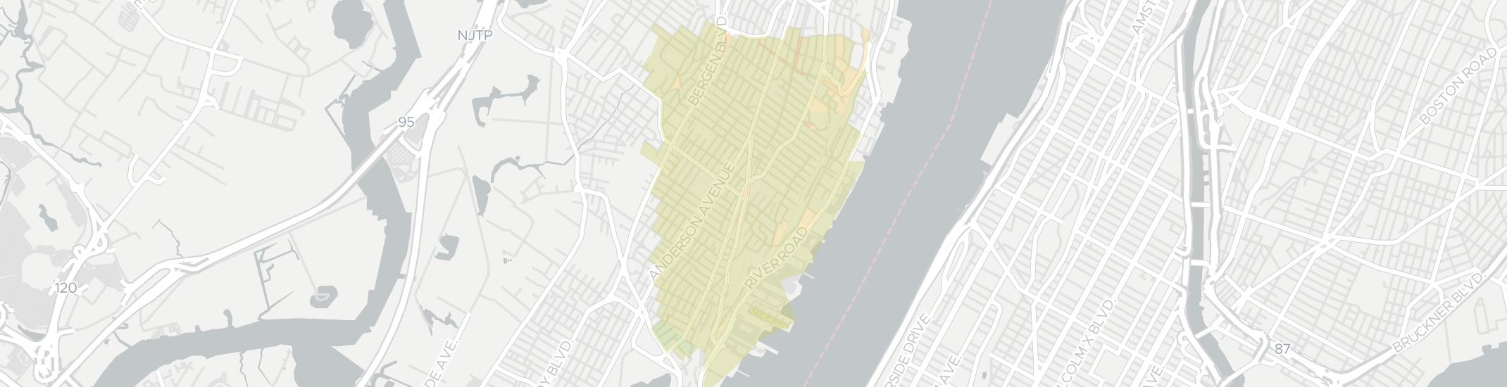 Cliffside Park Internet Competition Map. Click for interactive map.