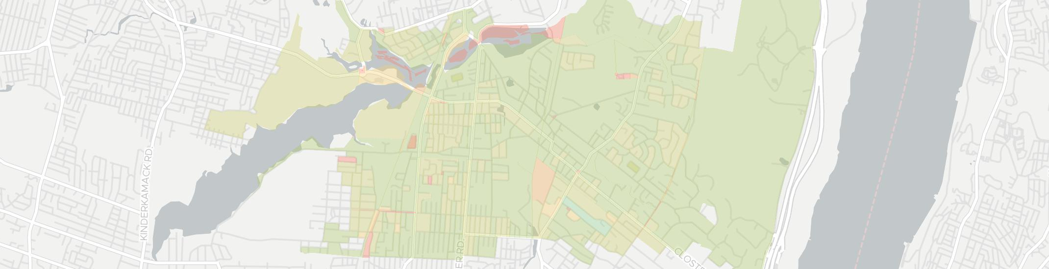 Closter Internet Competition Map. Click for interactive map.