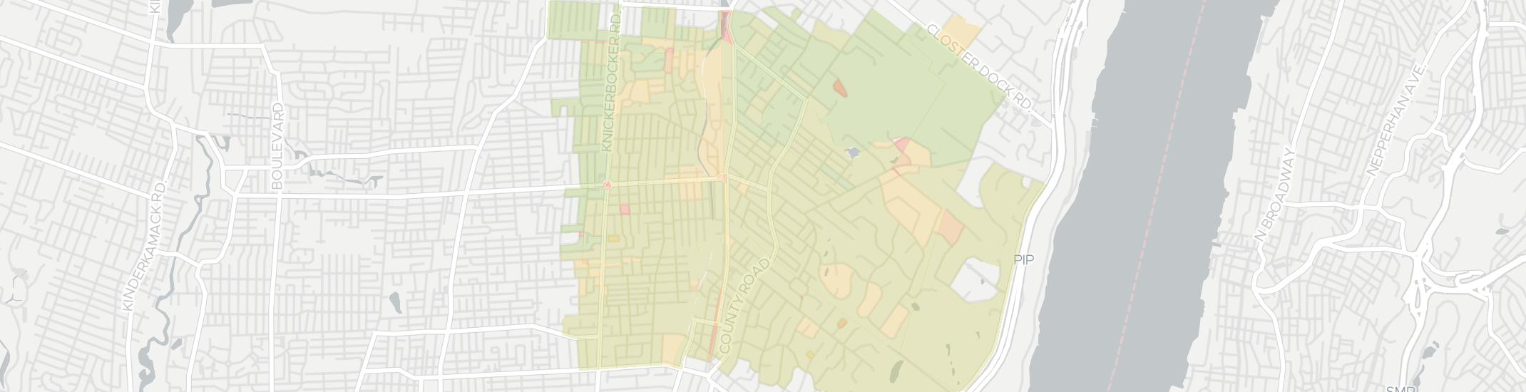 Cresskill Internet Competition Map. Click for interactive map.
