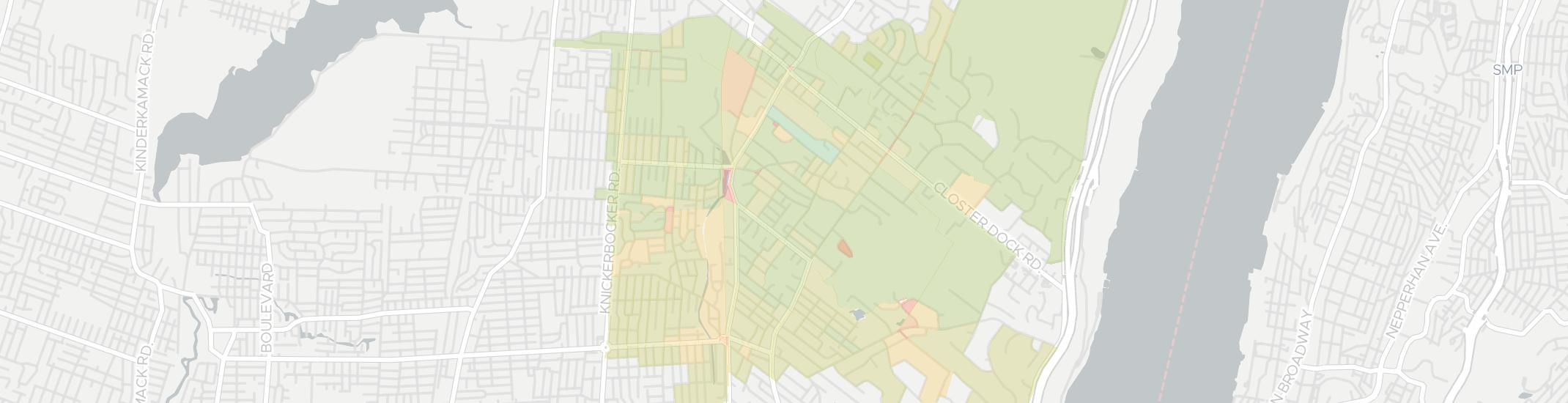 Demarest Internet Competition Map. Click for interactive map.