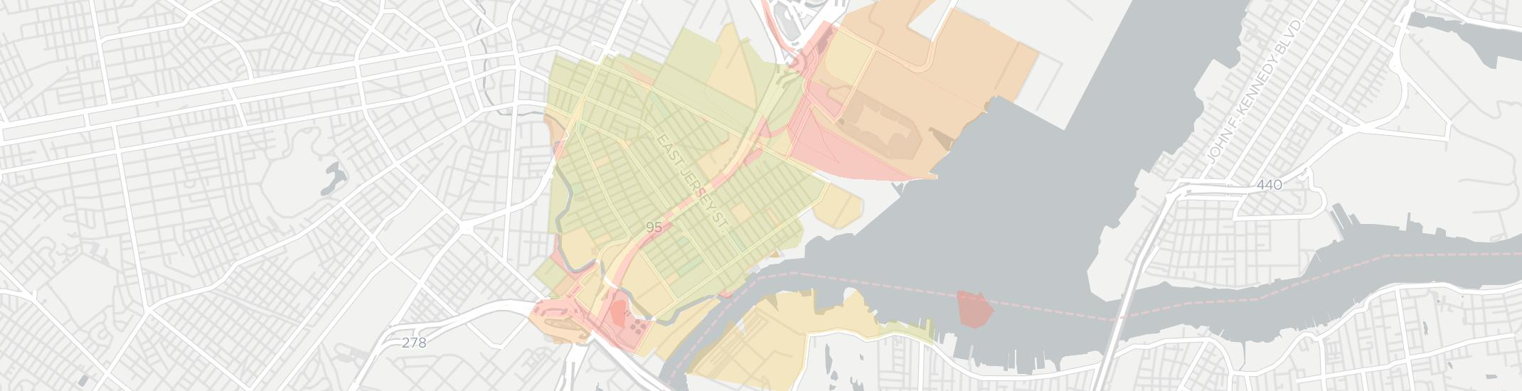 Elizabethport Internet Competition Map. Click for interactive map.