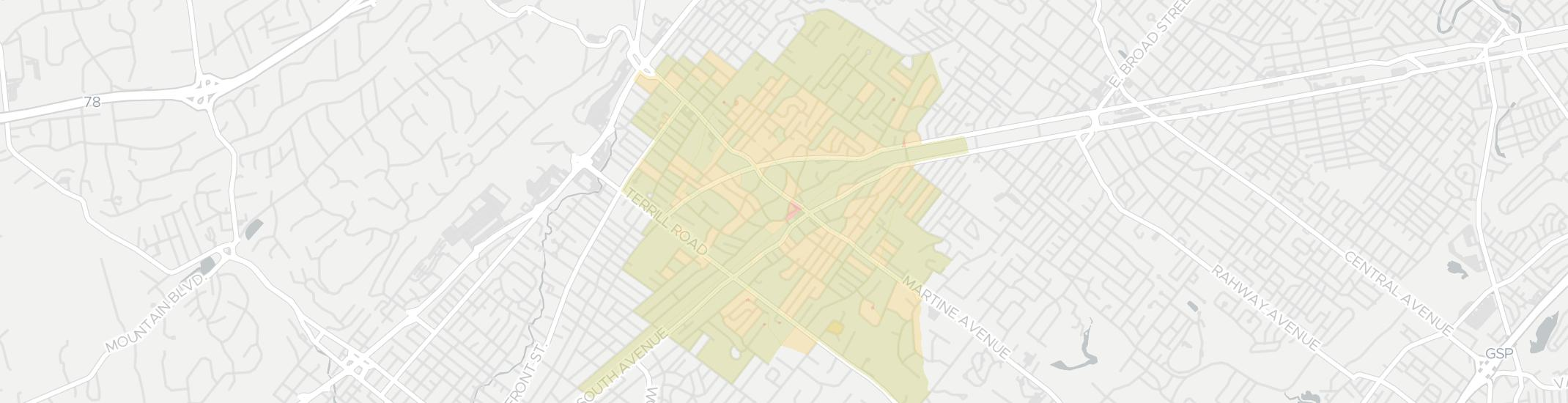 Fanwood Internet Competition Map. Click for interactive map.