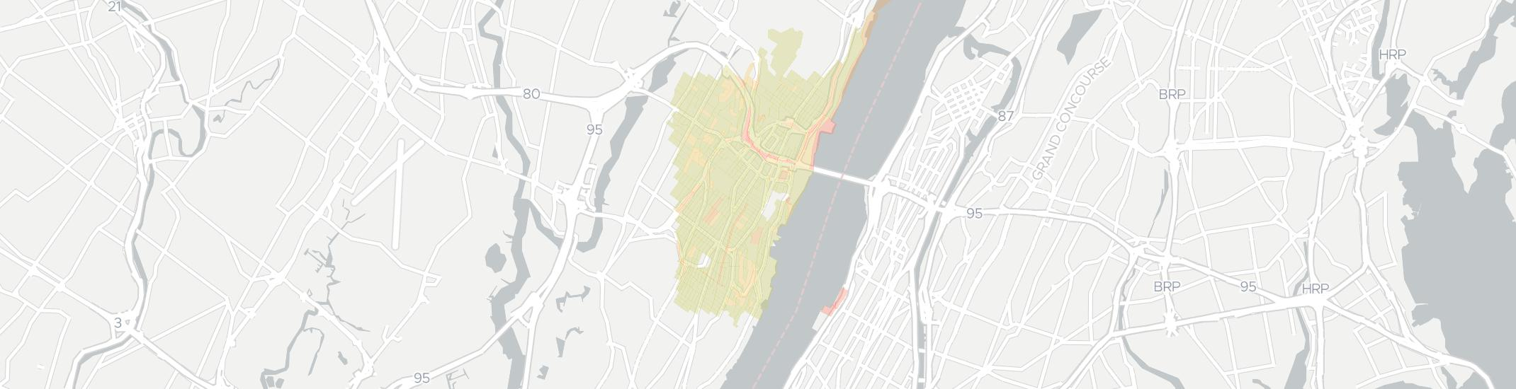 Fort Lee Internet Competition Map. Click for interactive map.