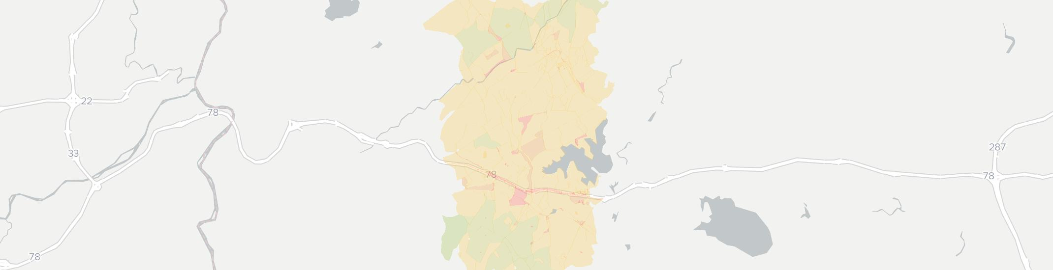 Hampton Internet Competition Map. Click for interactive map.