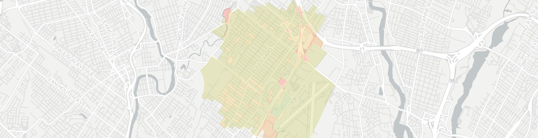 Hasbrouck Heights Internet Competition Map. Click for interactive map.