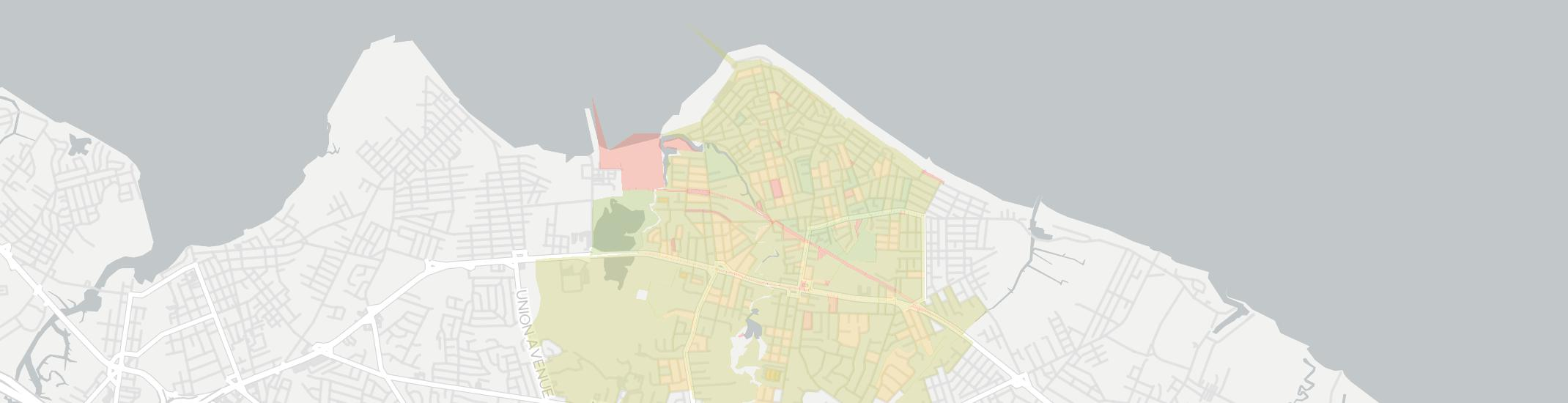 Keansburg Internet Competition Map. Click for interactive map.