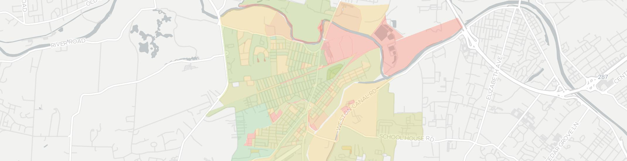 Manville Internet Competition Map. Click for interactive map.