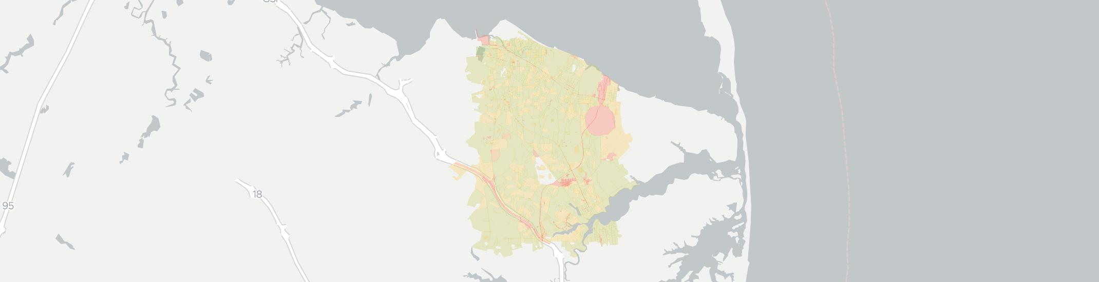 Middletown Internet Competition Map. Click for interactive map.
