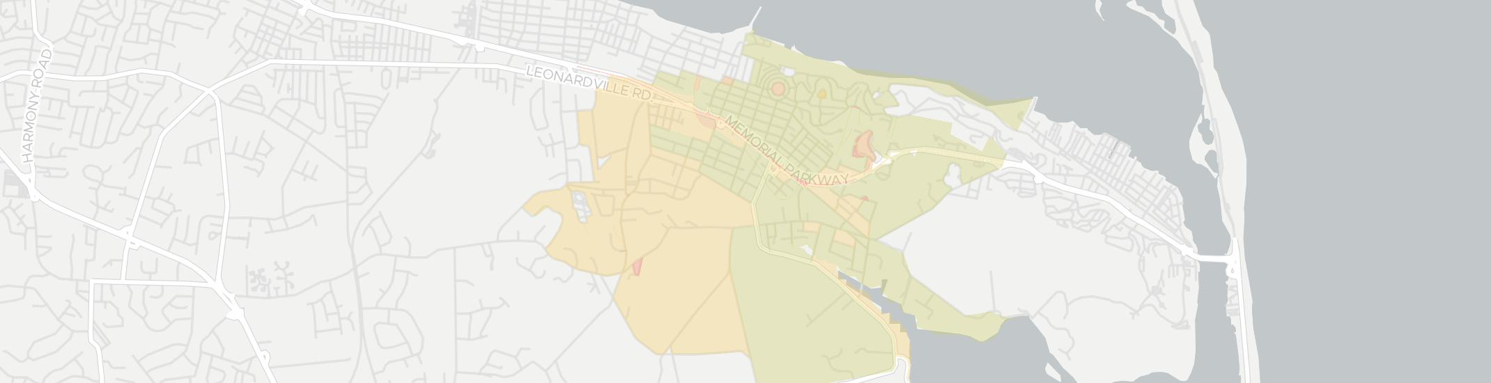 Navesink Internet Competition Map. Click for interactive map.