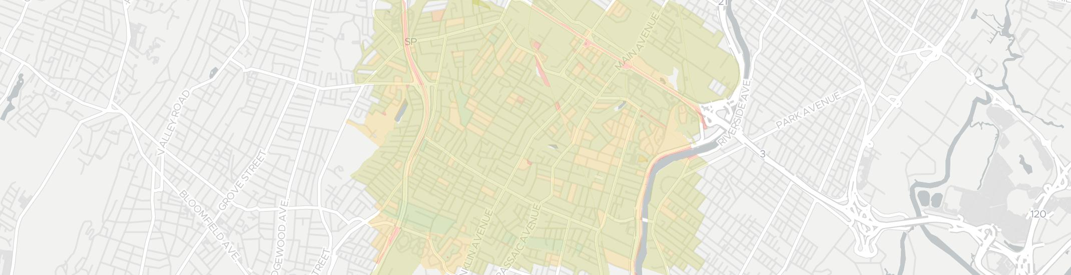 Nutley Internet Competition Map. Click for interactive map.