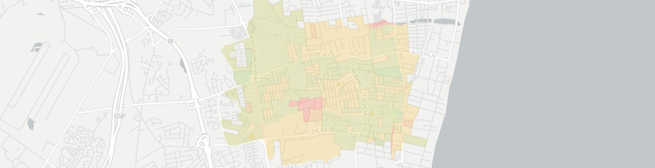 Oakhurst Internet Competition Map. Click for interactive map.