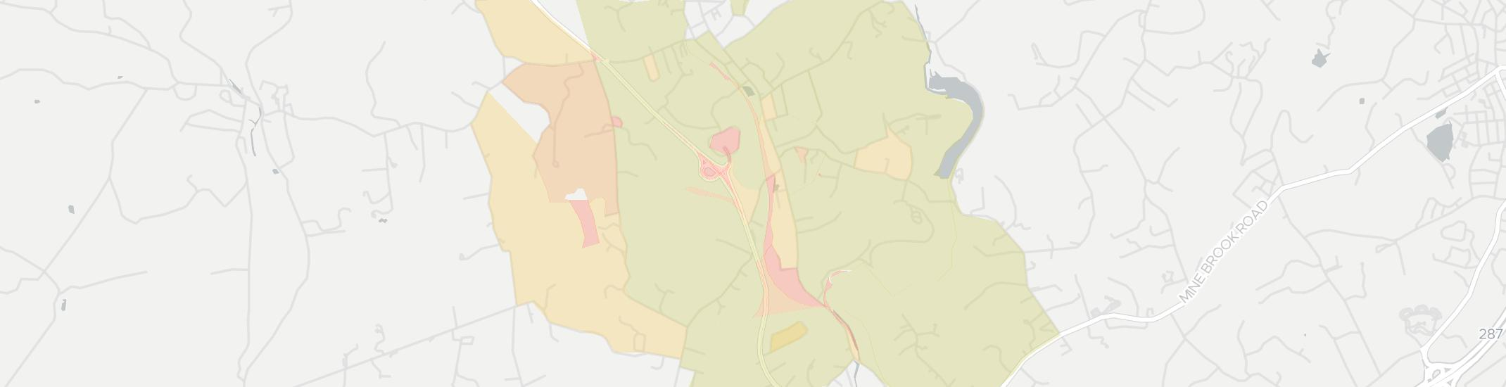 Peapack Internet Competition Map. Click for interactive map.