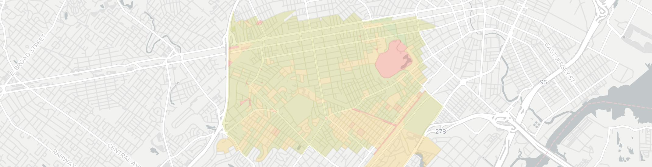 Roselle Internet Competition Map. Click for interactive map.