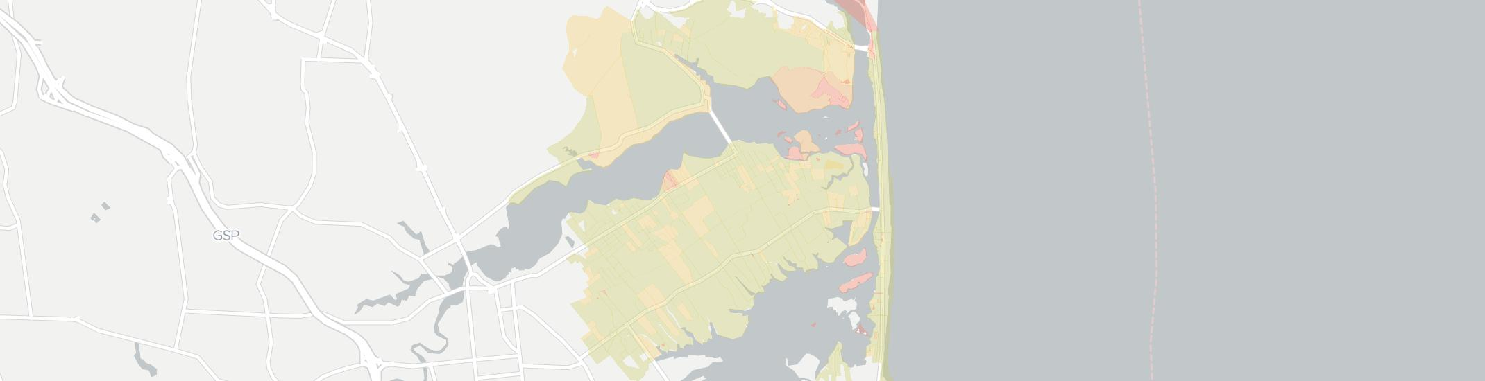 Rumson Internet Competition Map. Click for interactive map.