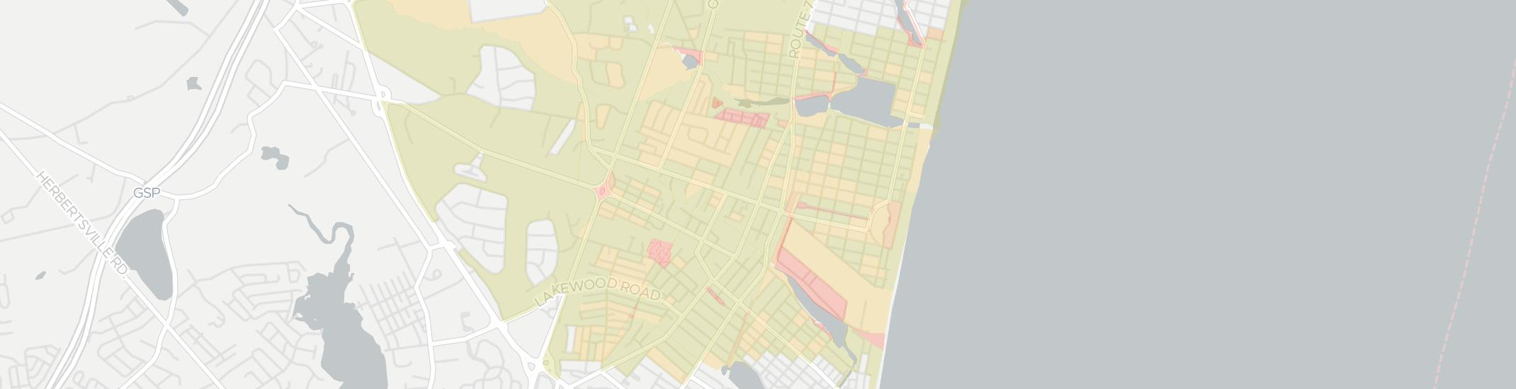Sea Girt Internet Competition Map. Click for interactive map.