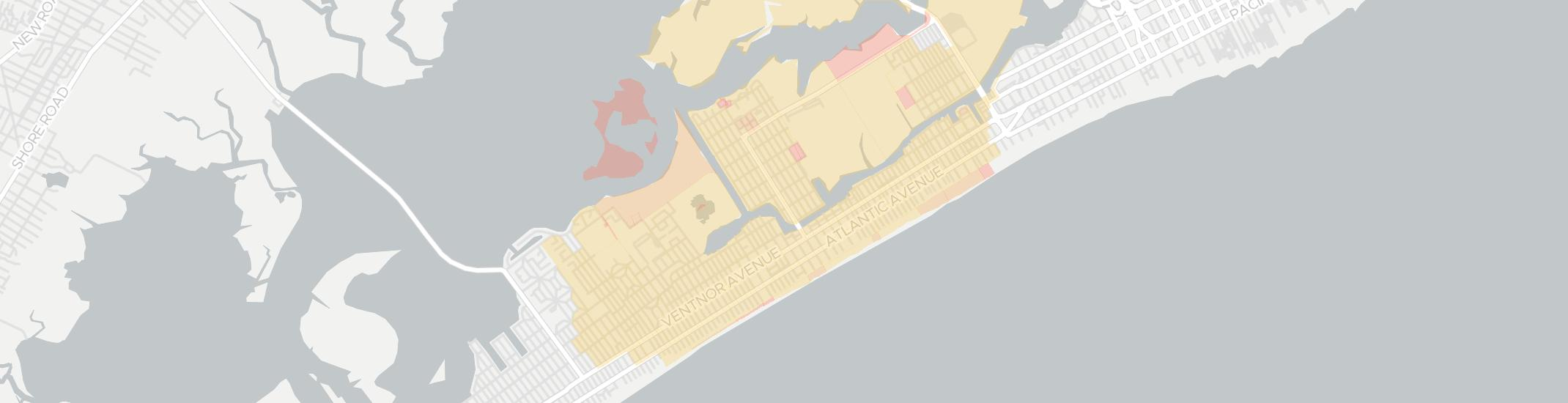 Ventnor City Internet Competition Map. Click for interactive map.