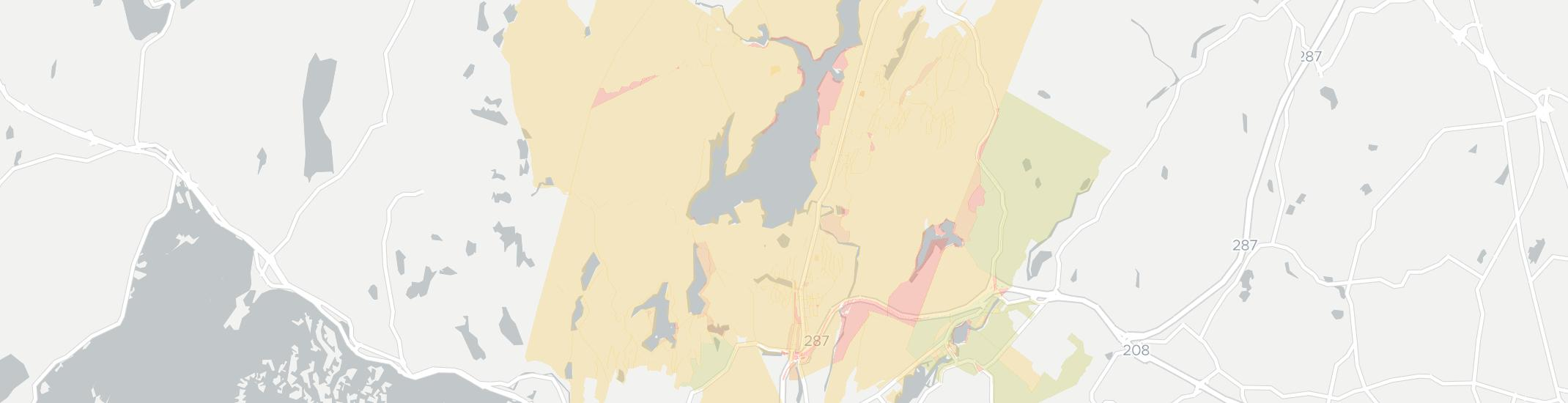 Wanaque Internet Competition Map. Click for interactive map.